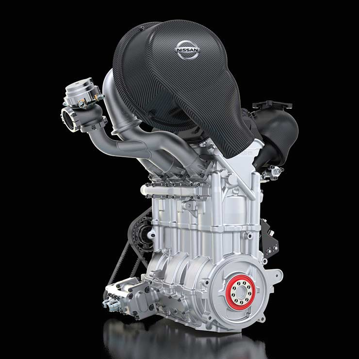 Novo motor Nissan promete 400 cv de potência e pesa só 40 Kg!