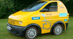 Pratyko, carro para cadeirantes brasileiro: o design do carro.