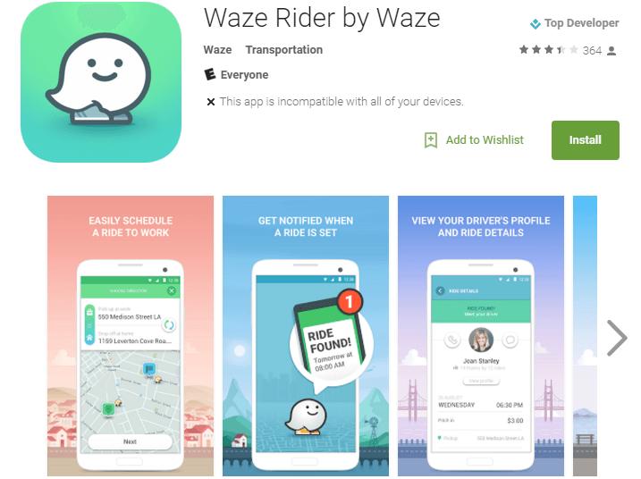 Waze Rider by Waze