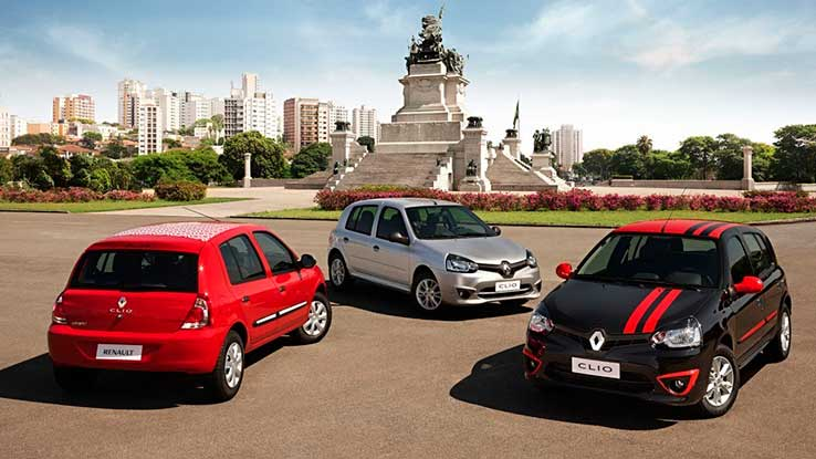 Carros mais econômicos de 2014: saiba o seguro do Renault Clio