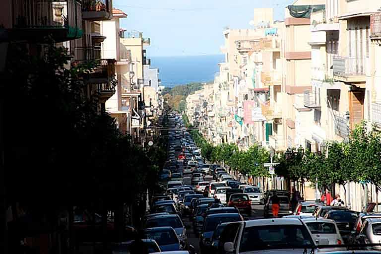 Cidades com pior trânsito: Palermo, Itália