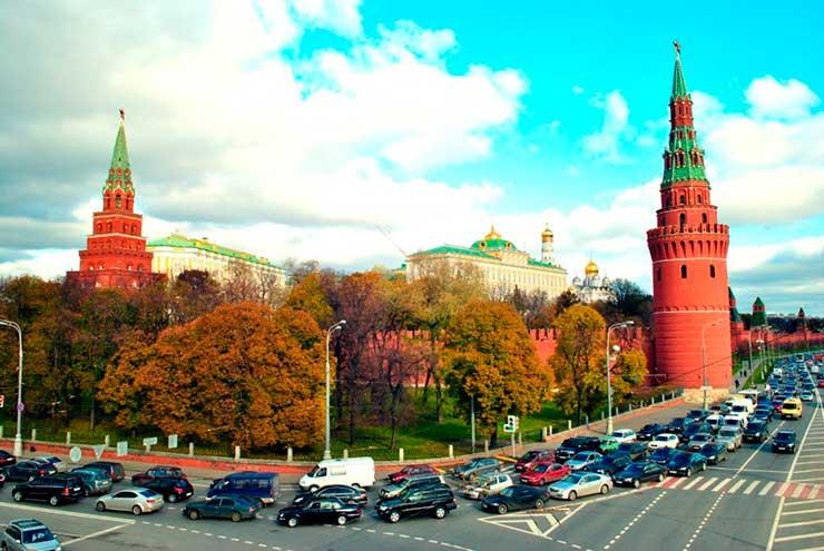 Cidades com pior trânsito: Moscou, Russia