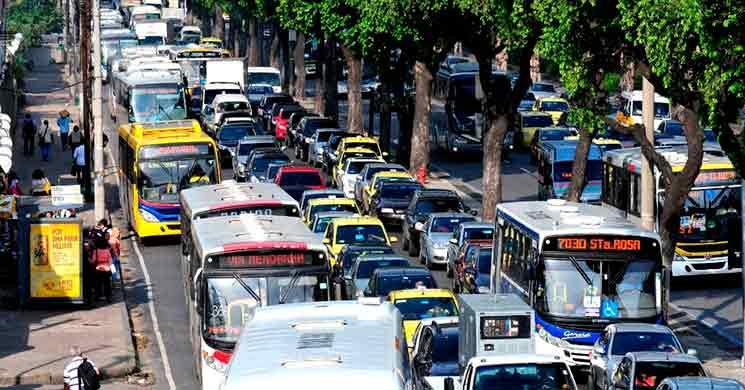 Cidades com pior trânsito: Rio de Janeiro, Brasil