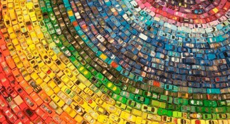 Cor dos carros pode influenciar no roubo