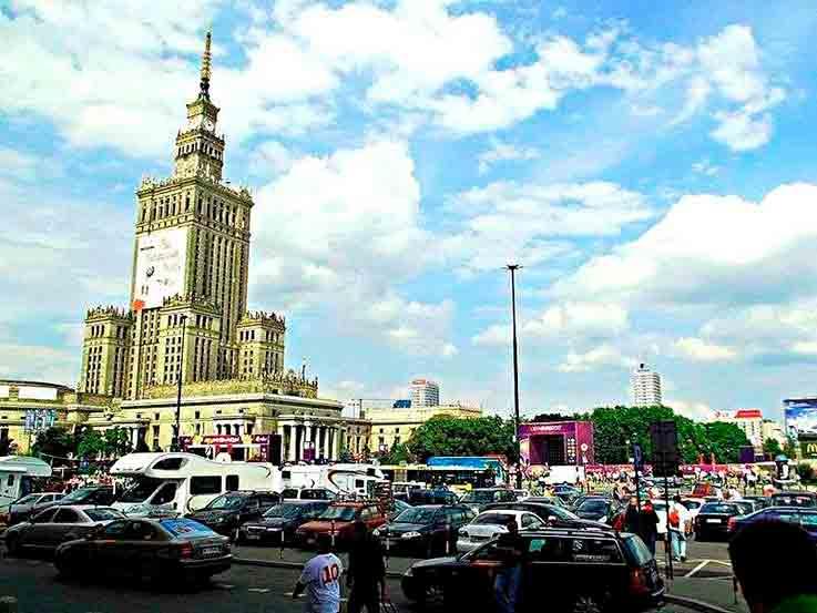 Cidades com pior trânsito: Varsóvia, Polônia