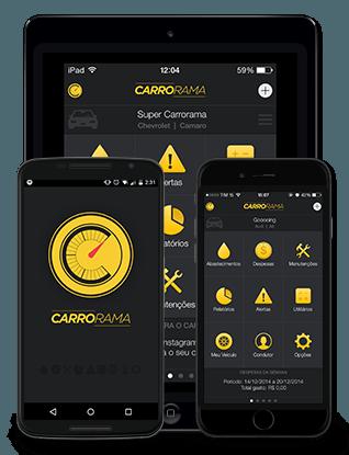 Carrorama: Aplicativo de gerenciamento veicular