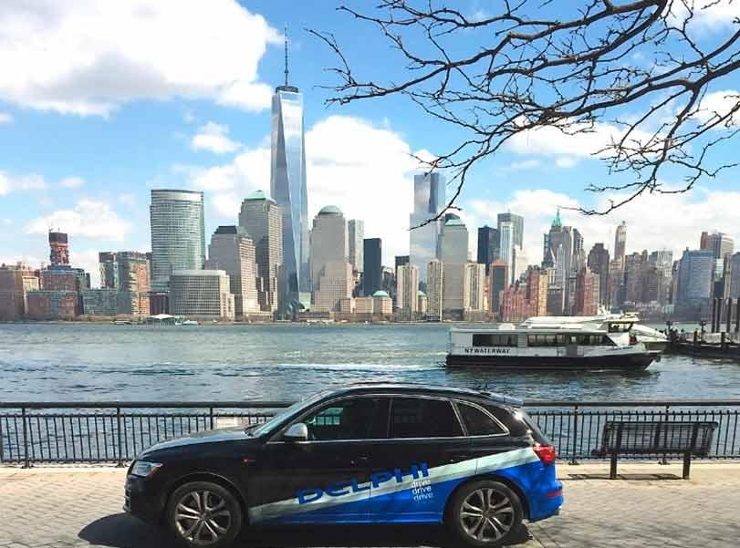 Carro sem motorista: saiba mais sobre o Audi SQ5 modificado pela Delphi, que cruzou os EUA no último mês de março.