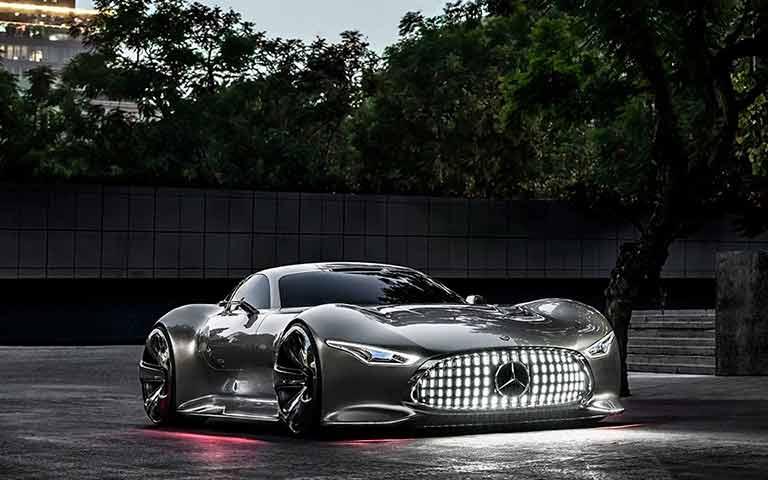 AMG Vision GT, o carro que a Mercedes-Benz lançou para o videogame Gran Turismo 6