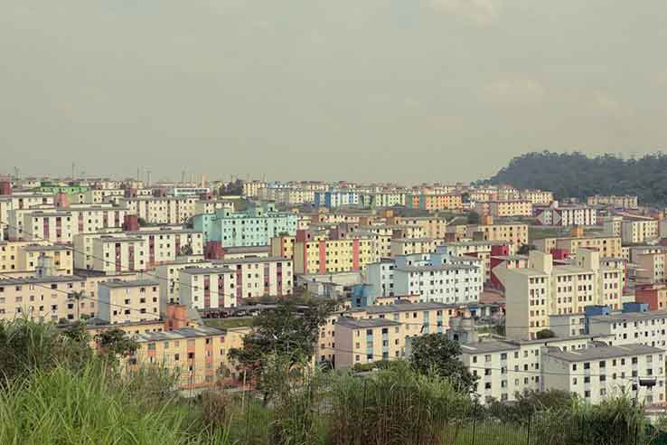 Vista do bairro Cidade Tiradentes, em São Paulo