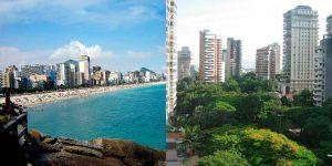 Seguro auto: comparação entre Leblon e Vila Nova Conceição.