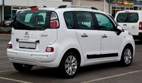 Modelo de carro Minivan/monovolume