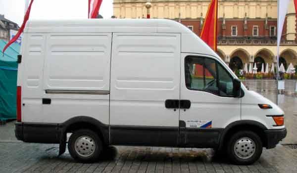 Modelo de carro Van