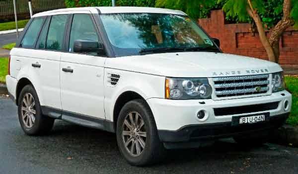 Modelo de carro SUV