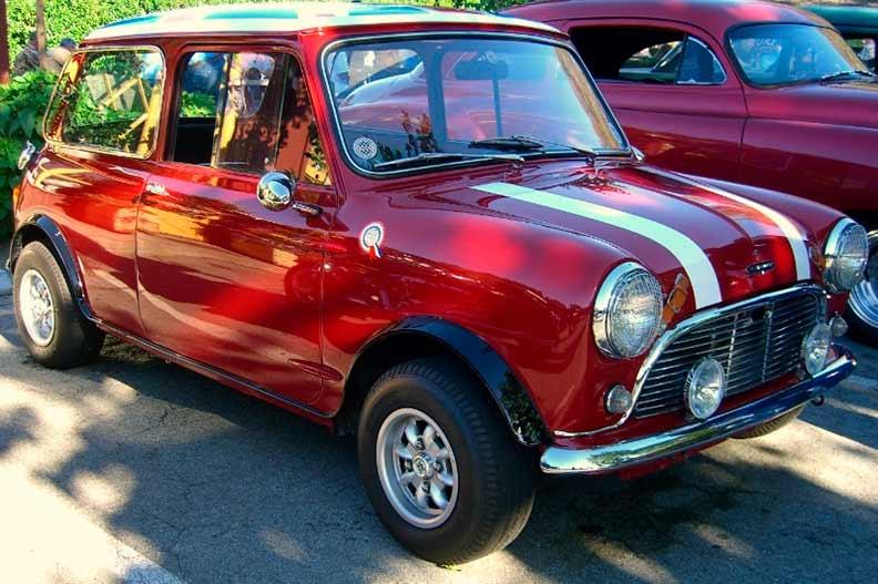 Mini Cooper S inglês de 1963