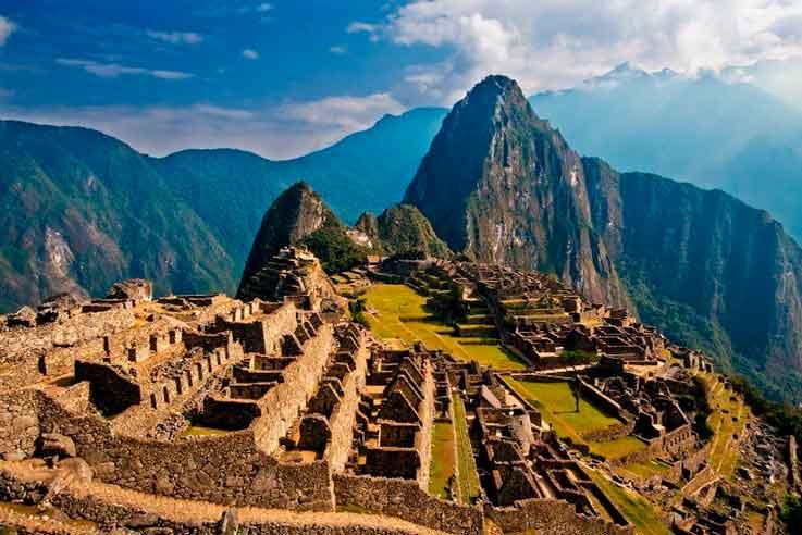 Machu Picchu, no Peru, é uma viagem para os aventureiros