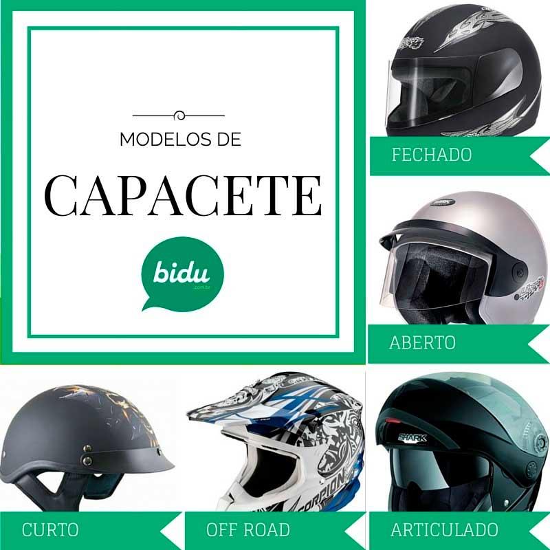 Saiba mais sobre modelos de capacetes com a Bidu Corretora.