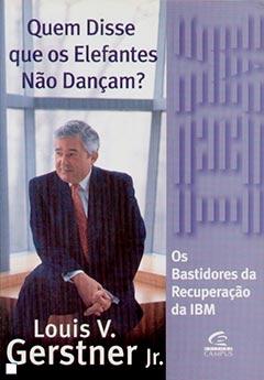 """capa do livro """"Quem disse que os elefantes não dançam?"""""""