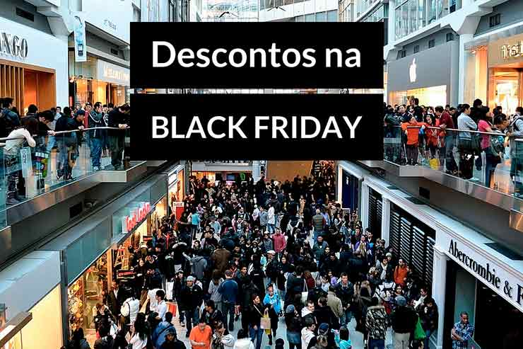 Descontos na Black Friday