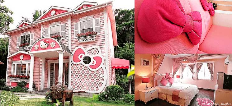 Casa da hello kitty