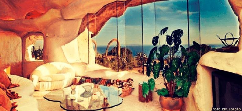 Casa dos Flintstones Interna