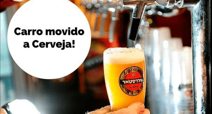 Carro movido a cerveja