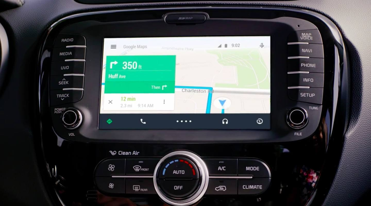 Android Auto integra celular ao carro - google maps