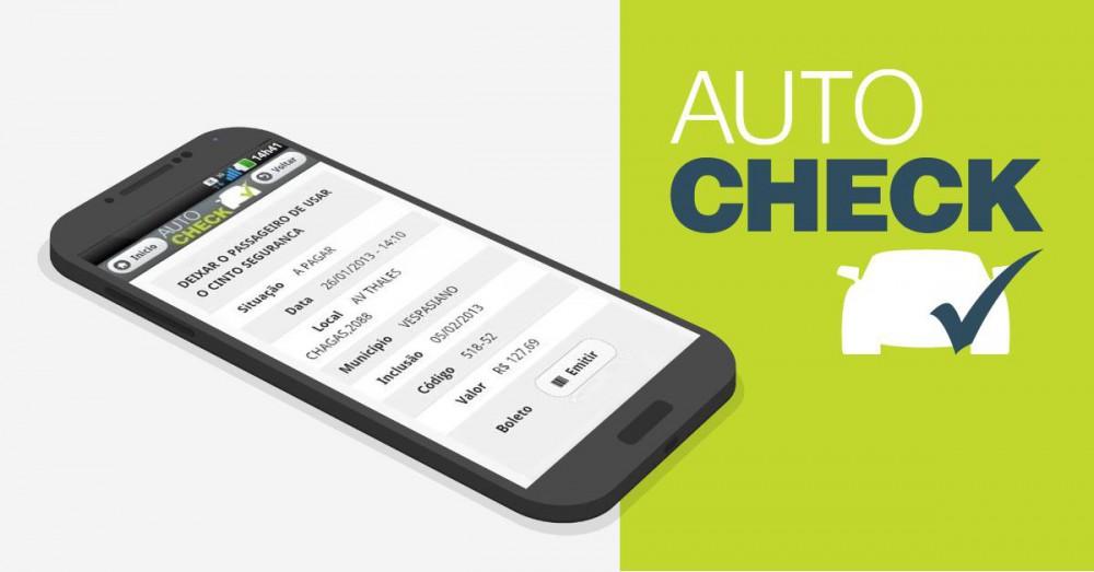 Aplicativo Autocheck Detran