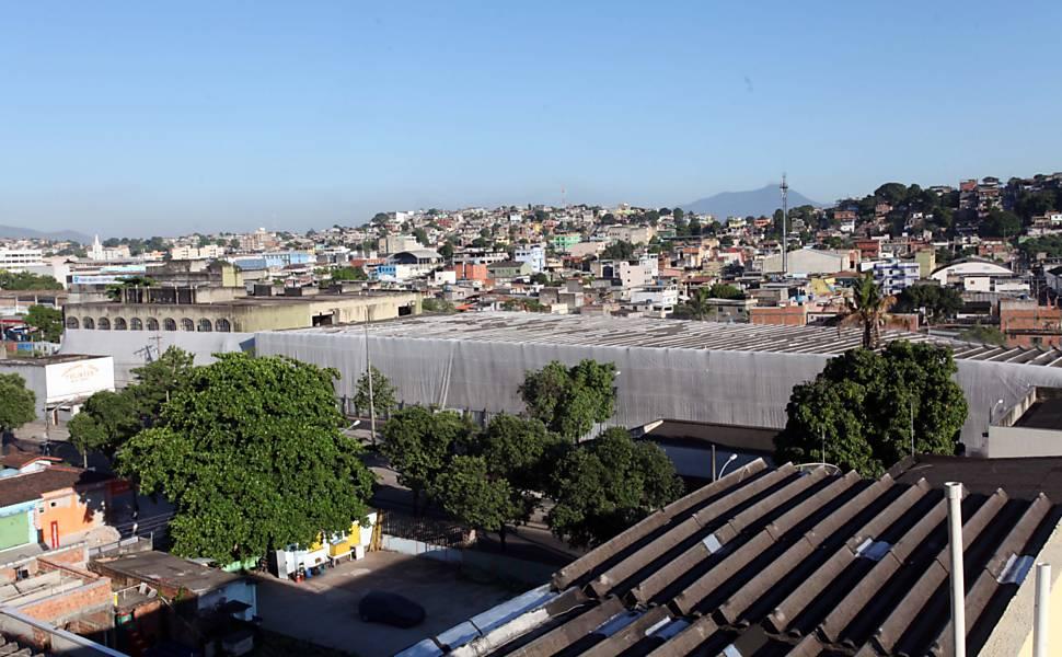Vista do bairro da Pavuna, na cidade do Rio de Janeiro