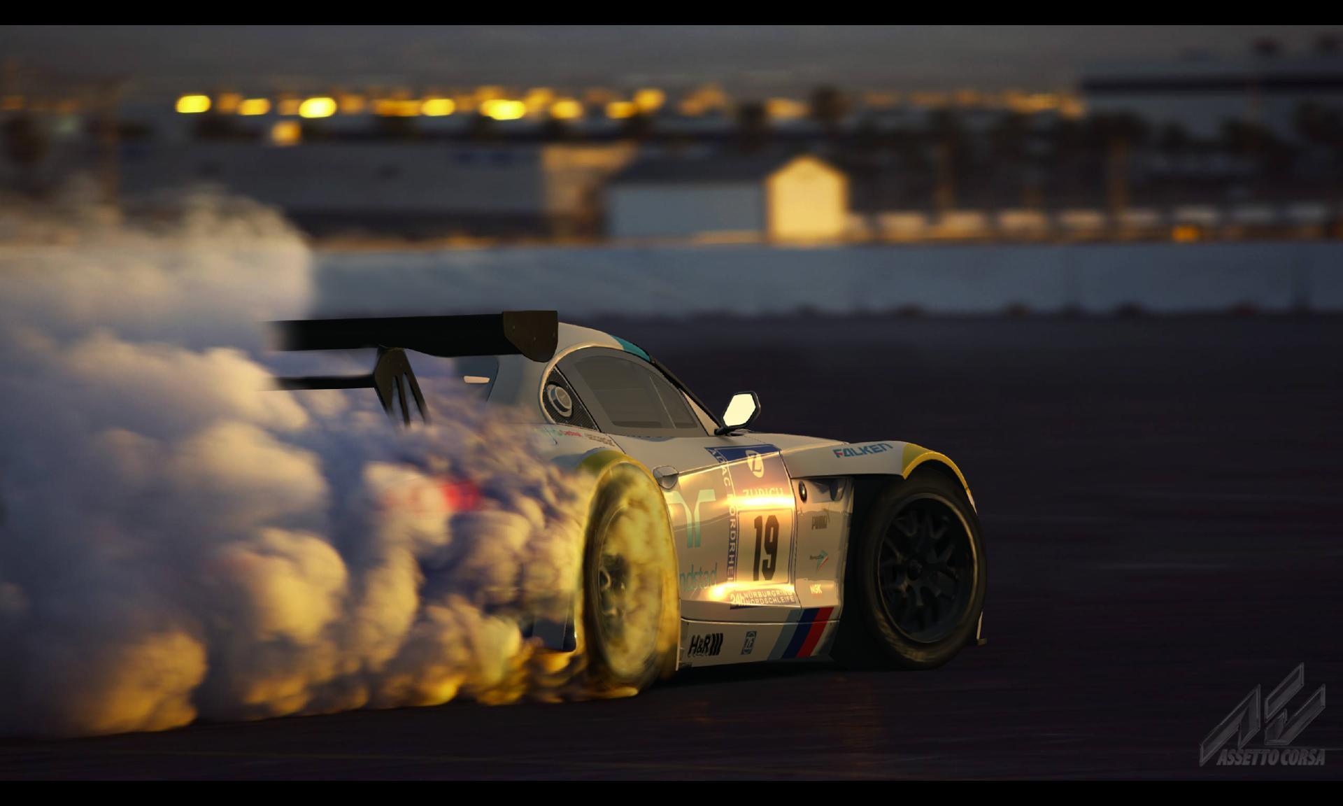 Carros tem aspecto quase real em videogame como o Assetto Corsa