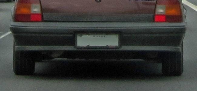 é possível fazer seguro para carro sem placa?