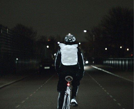 Spray promete diminuir acidentes de bicicleta