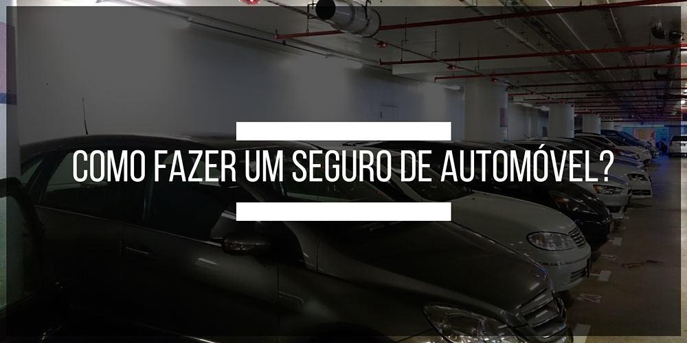 Aprenda como fazer um seguro de automóvel com a Bidu Corretora de Seguros.