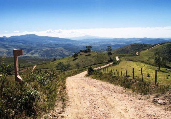 Estrada Real em Minas Gerais