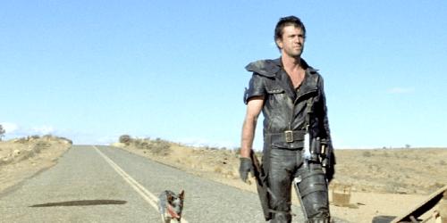 Mel Gibson no filme Mad Max