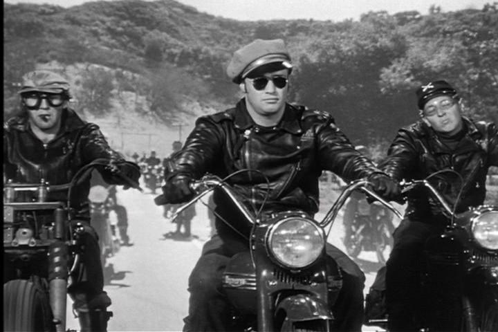 Marlon Brando fez sucesso no filme Os Selvagens