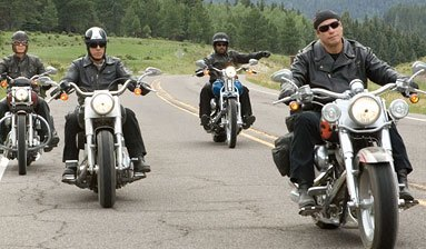 O filme de comédia tem como tema viagem de moto