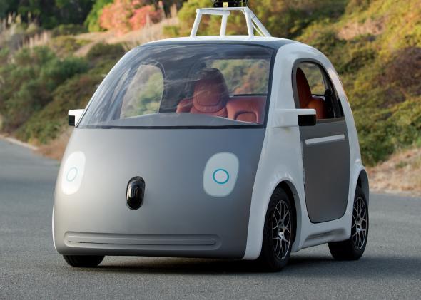 Carro do Google não poderá ser mais 100% autônomo, e possuirá pedais e volante para direção manual