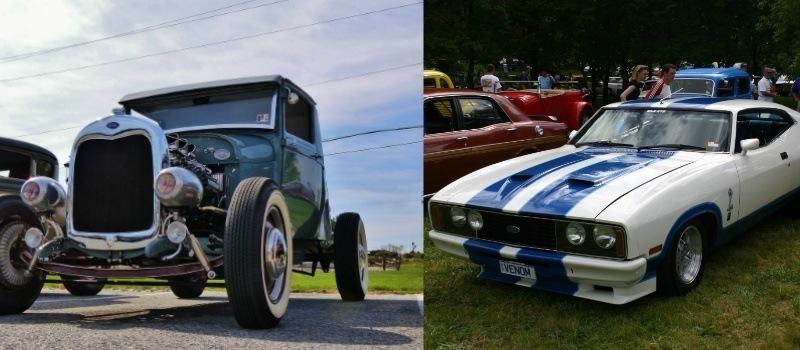 Hot Rod e Muscle Car - carros modificados