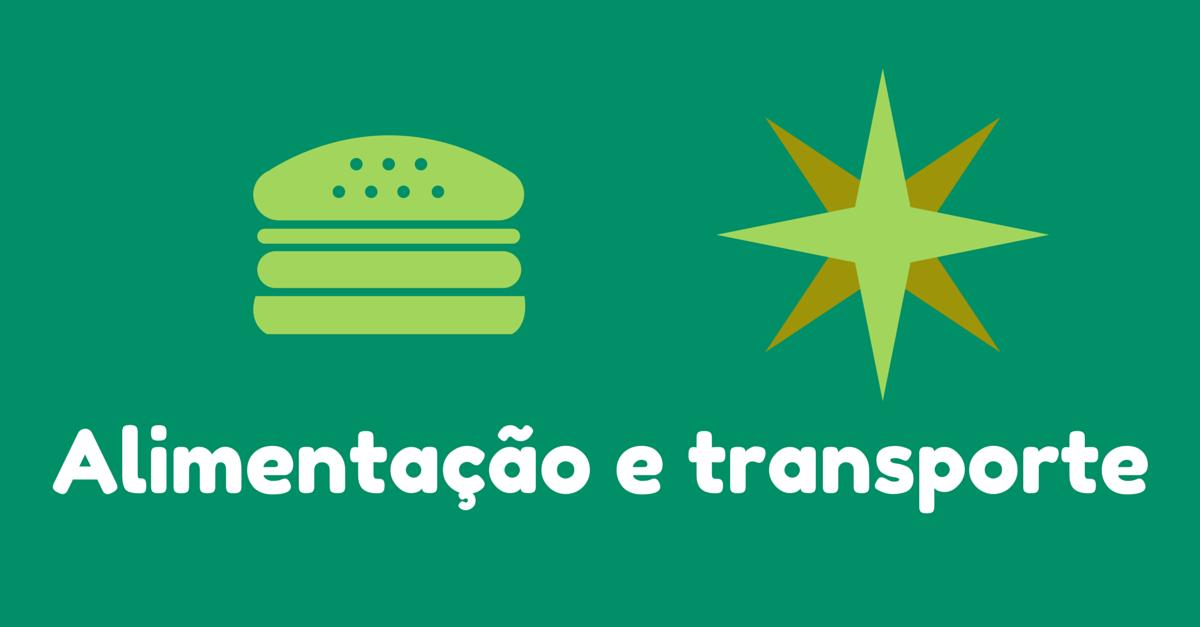 Dicas para uma boa viagem: Se programe para não passar aperto com alimentação e transporte na viagem