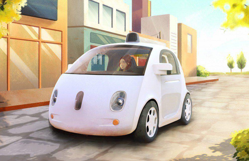 Carros seguros: protótipo do Google tem aparência de desenho animado e sensores.