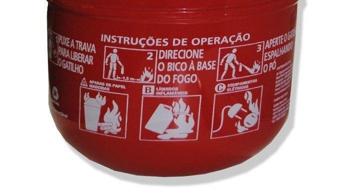 Não esqueça de conferir se a classe de seu extintor de incêndio ainda é BC ou ABC, a classe que se torna obrigatória.