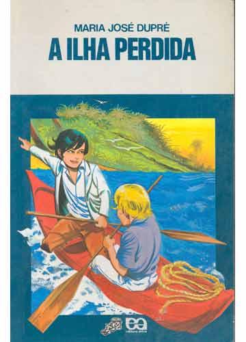Capa do livro A Ilha Perdida