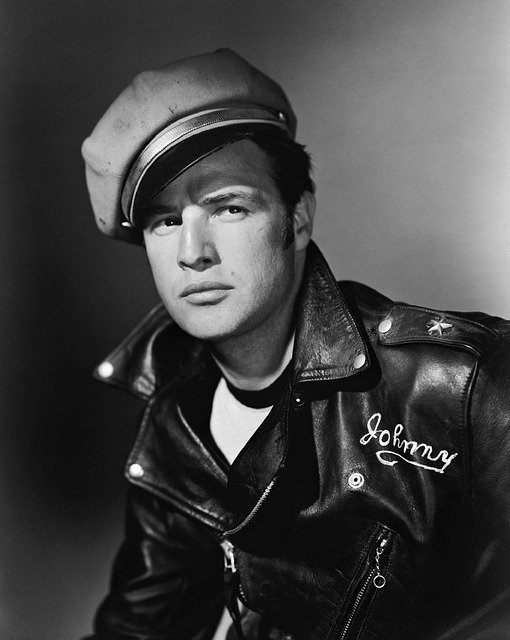 Marlon Brando no filme The Wild One