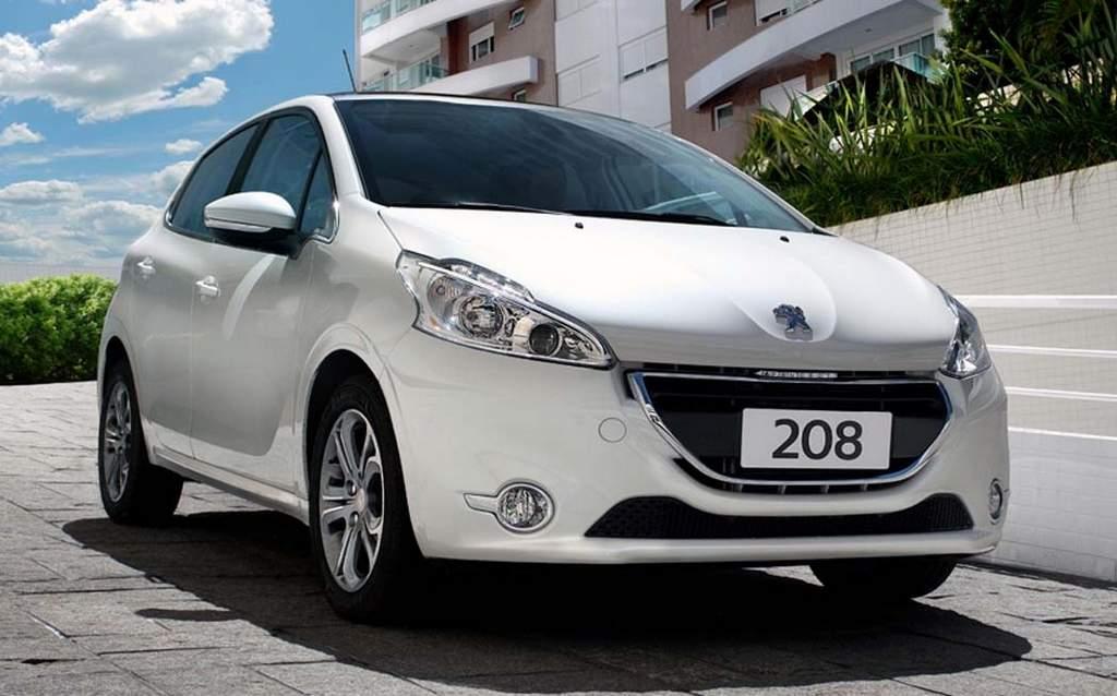 Segurança veicular: Peugeot 208