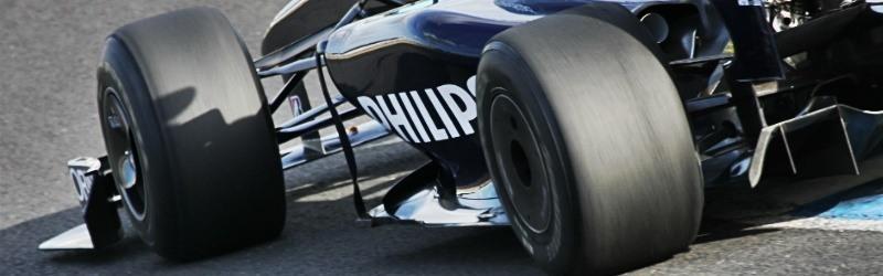 Acessórios para carro que saíram da Fórmula 1: Pneu de Fórmula 1