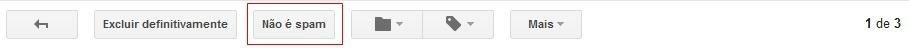 Spam no Gmail - e-mail de cotação