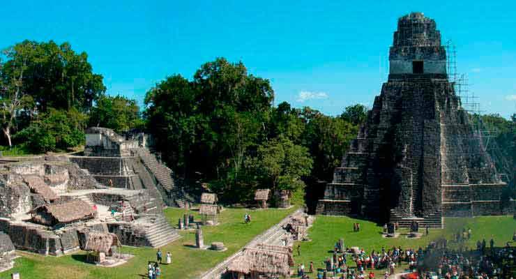 cidade maia no parque nacional tikal