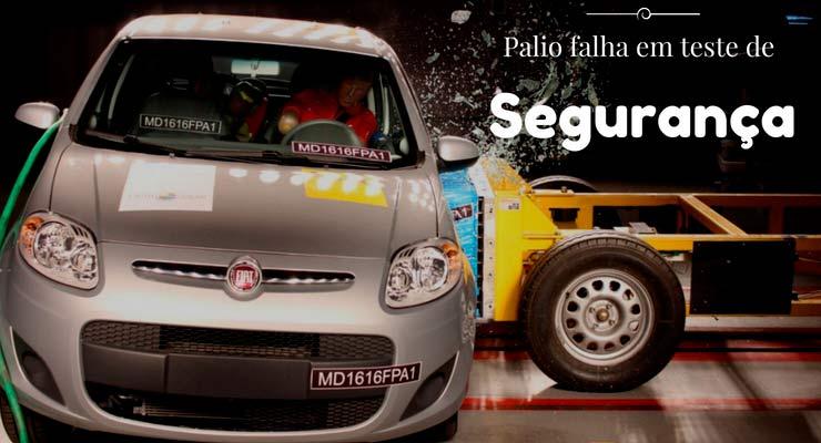 Fiat Palio falha em novo teste de segurança