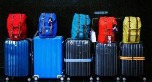 mala para viajar