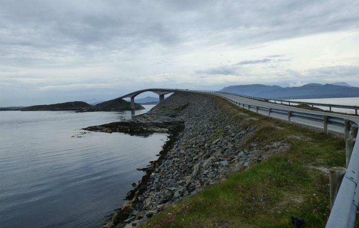 Estrada Atlântica – Noruega